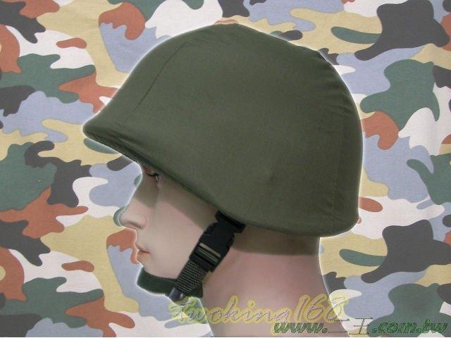 ★☆草綠色偽裝帽(鬆緊式)★盔布 凱夫勒 功夫龍 鋼盔 M1 軍綠色