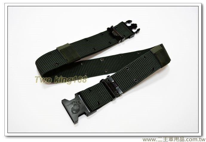海軍陸戰隊徽S腰帶(軍綠色)330元