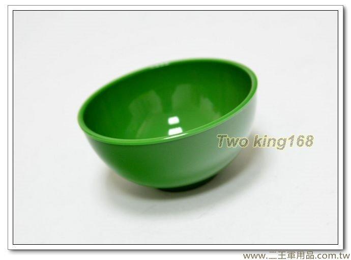 綠色塑膠碗