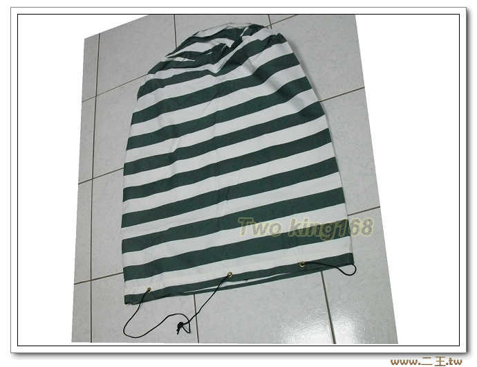 棉被袋(綠白特大)