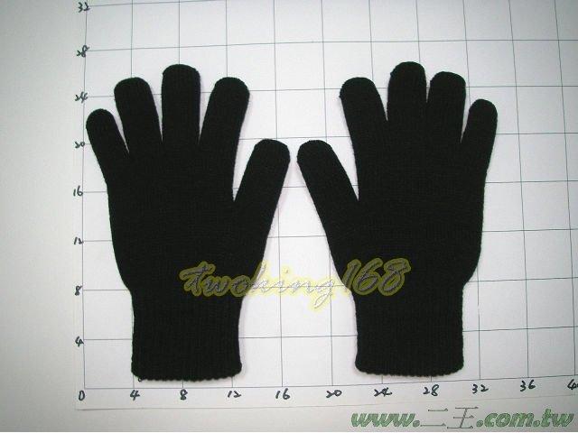 ★☆雙層棉防寒手套(黑)★