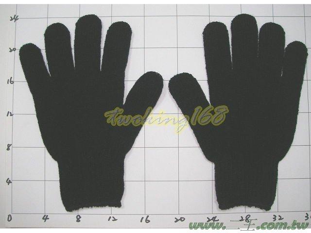 ★☆單層棉防寒手套(黑)★棉手套 工作手套