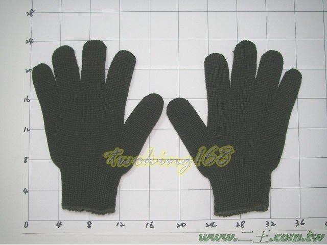 ★☆單層棉防寒手套(綠)★棉手套 工作手套