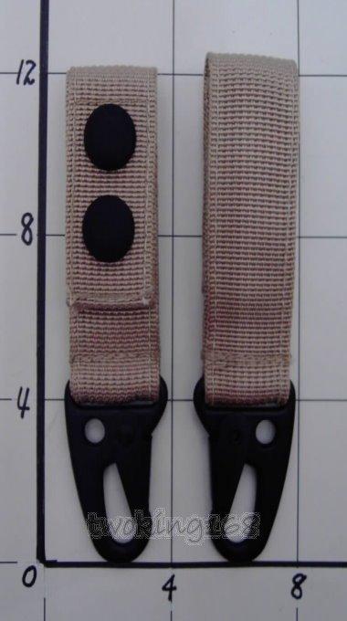 二王軍警防身百貨★☆戰術MOLLE系統掛勾/單個★鑰匙圈 手機 吊飾 防遺失 吊環