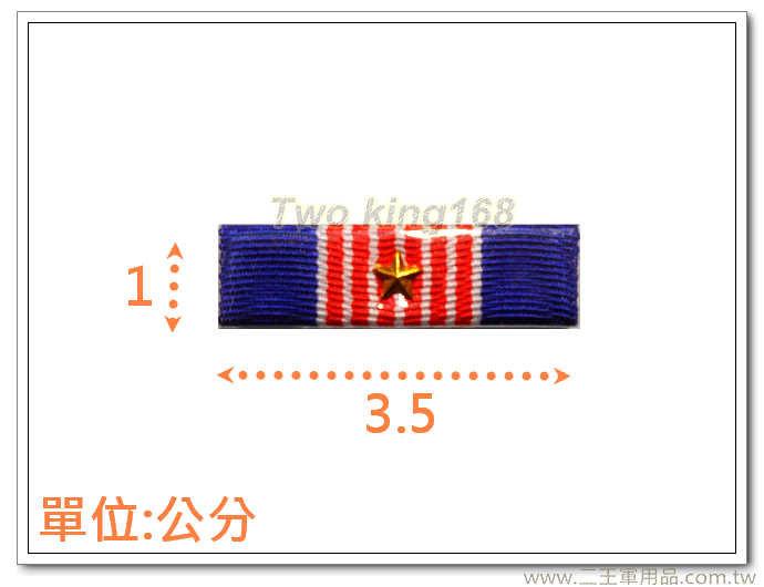 ★海光獎章(一星)-n1-1 勛表 勳表 勛標 勳標(不含架)
