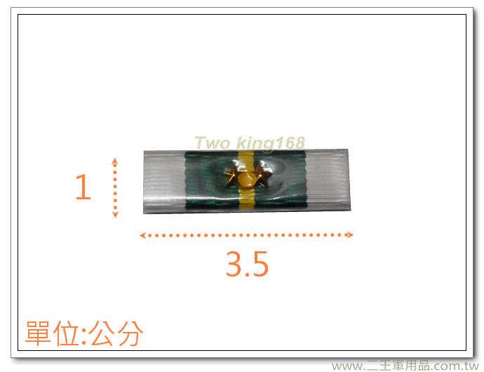 楷模甲種二等二星勳標 f-15-2 【勛表 勳表 勛標】一個35元(不含架)