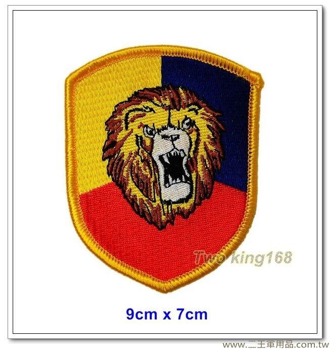 ★★☆陸軍步兵269師 - 摩托化步兵269旅臂章(盾形)(明視度)(雄獅部隊)【3-3-1】
