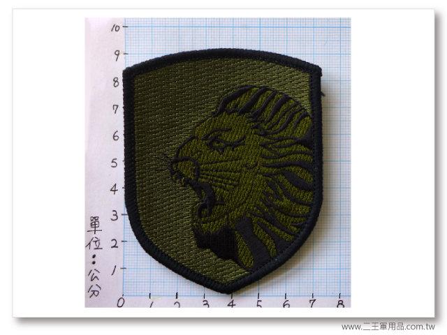 -陸軍步兵104旅臂章(常山部隊)(低視度)(盾形)-15-24-30元