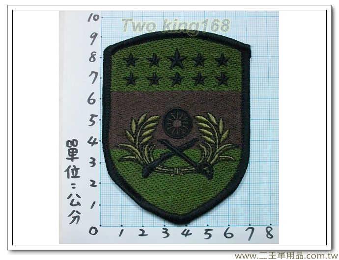 ★☆金西守備隊-19-5-1(班超部隊)(盾形低視度)-30元 國軍 陸軍 迷彩服 臂章