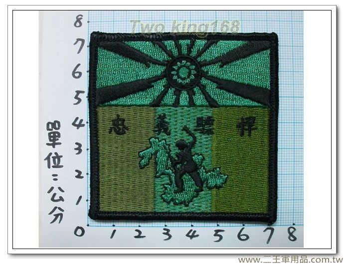 東引指揮部-19-8(忠義部隊)-四角型低視度-30元
