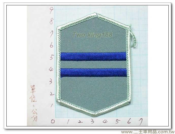 國防大學政戰學校外出服二年級臂章