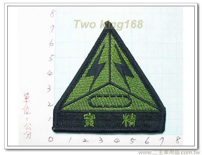 陸軍裝步第395旅(精實部隊)25-3 國軍 陸軍 迷彩服 臂章