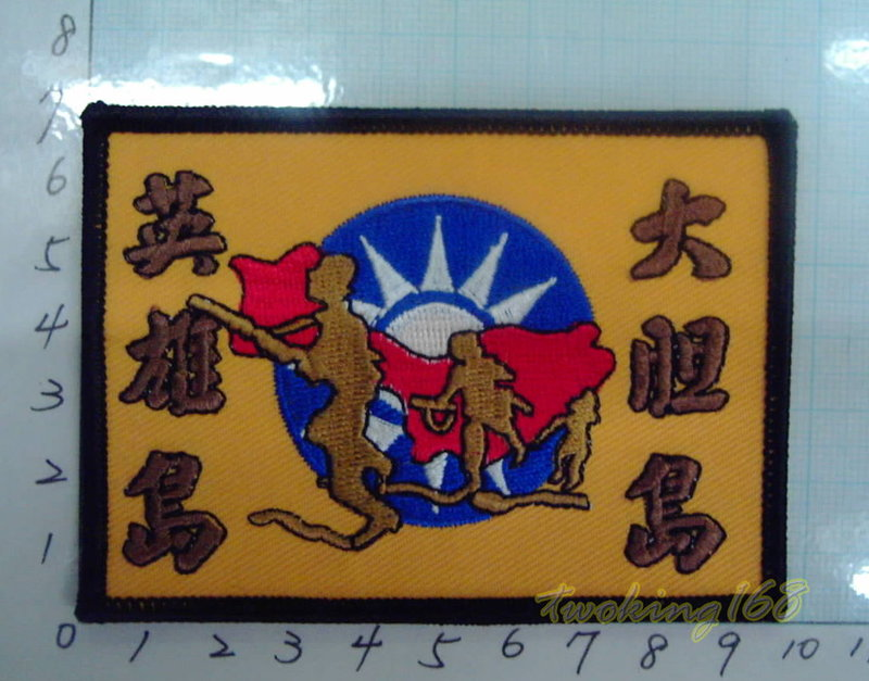 ★☆大膽島臂章★☆國內2-54★陸軍 國軍