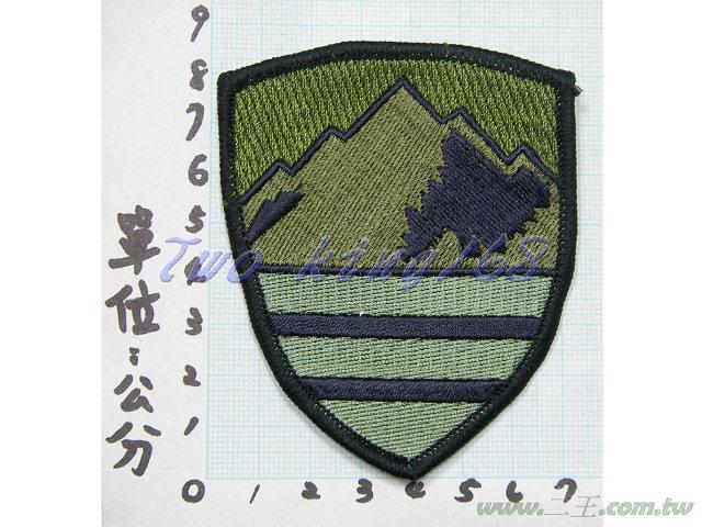 ★☆十軍團臂章(低視度)15-4 國軍 陸軍 迷彩服