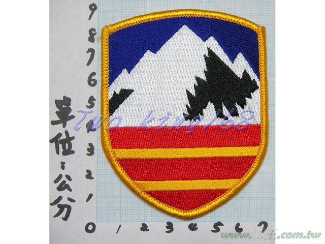 ★☆十軍團臂章(崑崙部隊)(陸軍1-3)(明視度)★國軍