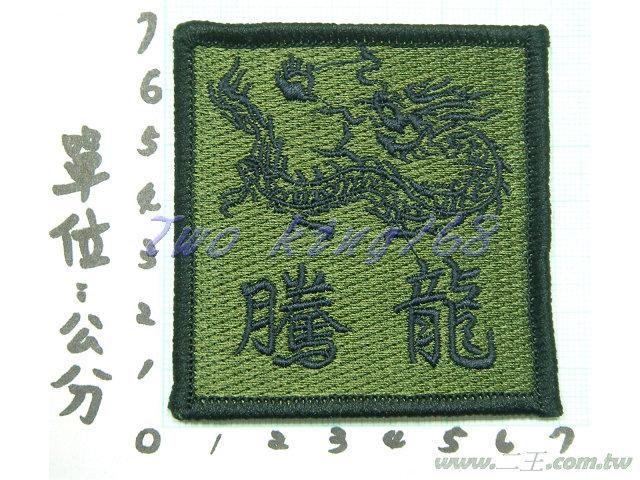 ★☆騰龍臂章(低視度)★國軍 陸軍 臂章 迷彩服