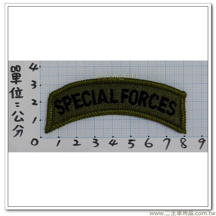 特種作戰完訓榮譽章(綠邊低視度)5-5-3-30元
