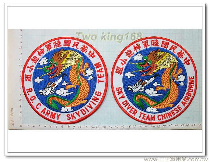☆中華民國陸軍神龍小組-兩個合購199 國軍 陸軍 臂章