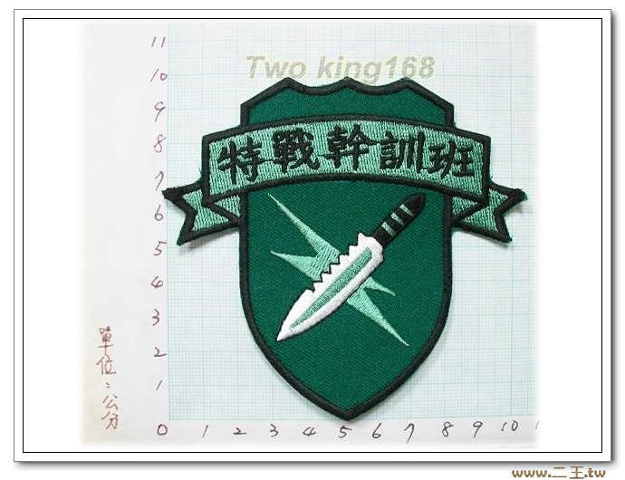 國內80特戰幹訓班臂章