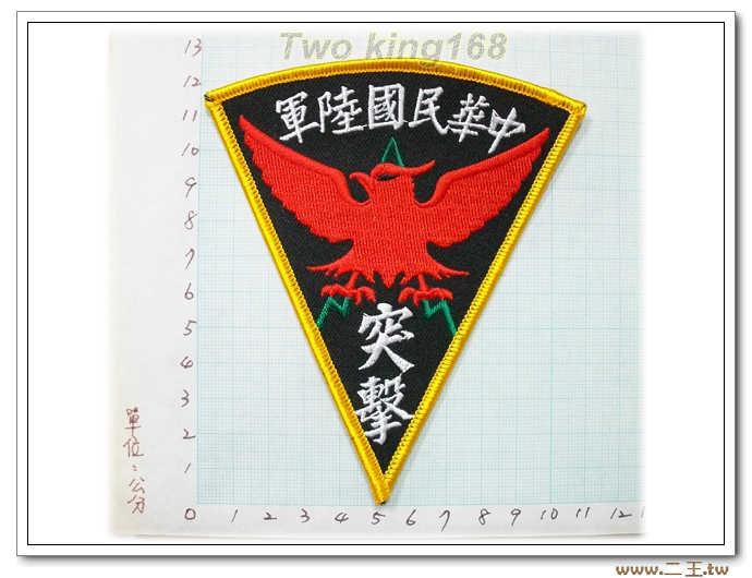 ☆國內23中華民國陸軍突擊 臂章