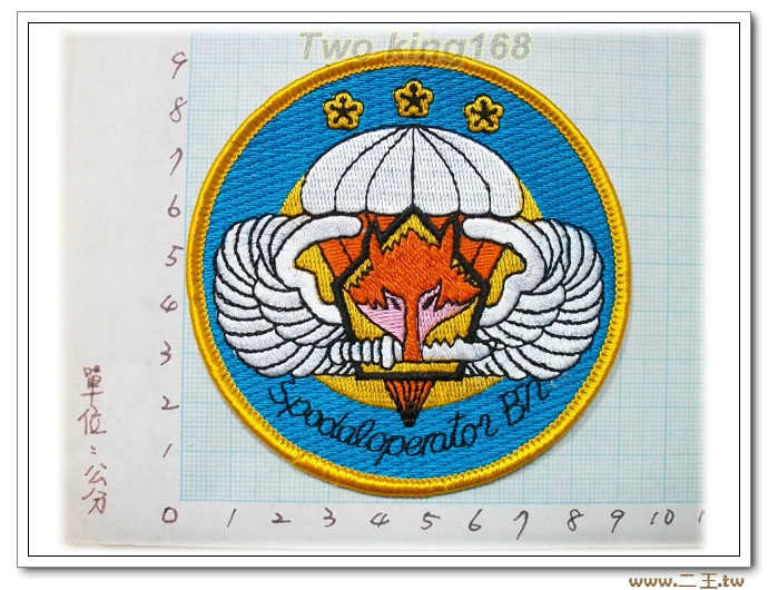 862旅5營1-26-1 國軍 陸軍 臂章