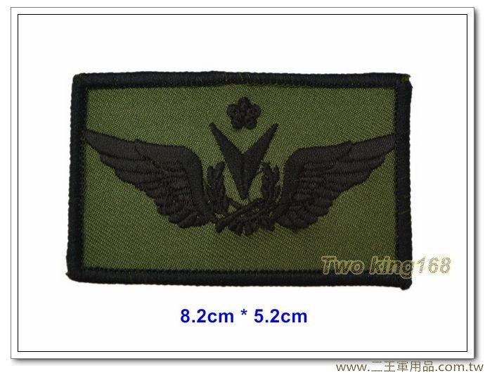 陸軍航空戰術偵搜大隊飛行胸章(小)(資深級)一片35元