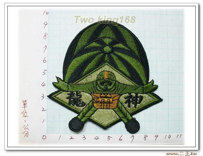 ☆4-7-2神龍小組 傘兵(低視度)- 迷彩服 臂章