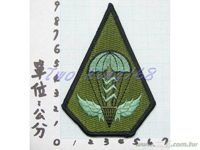 ★☆陸軍航特部臂章(低視度)★國軍 迷彩服 空特
