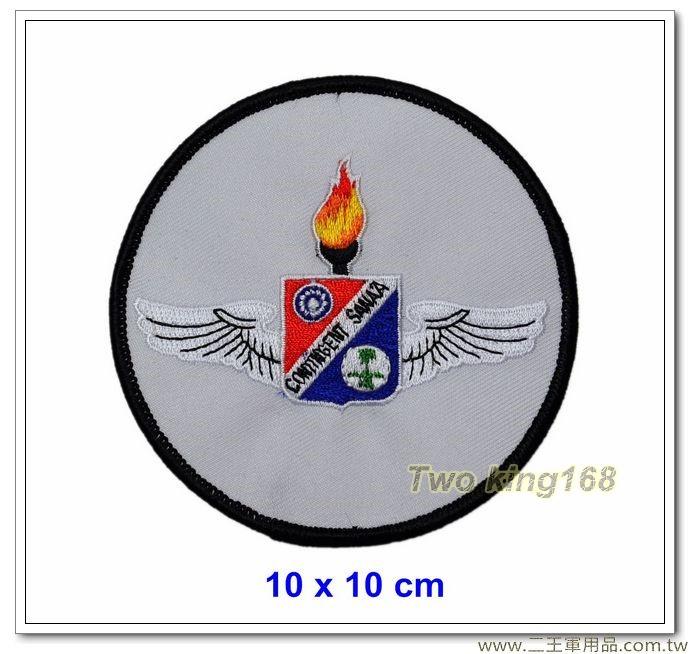 空軍大漠特遣隊第3梯次隊徽臂章 #空軍臂章【12-4-1】