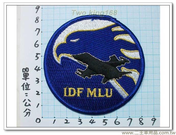 ★☆空軍IDF戰機機種章(單人MLU)雄鷹戰鬥機-經國號戰鬥機-空軍臂章2-3-4(飛行服 飛行夾克