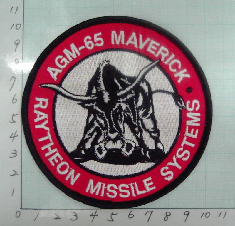★☆空軍小牛飛彈AGM-65臂章★☆2-13★(飛行服 飛行夾克