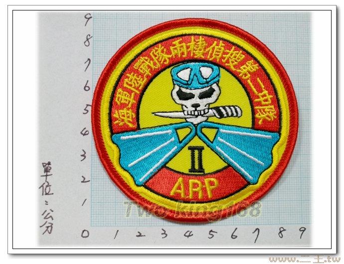 ★☆海軍陸戰隊兩棲偵搜二中隊臂章★☆國內46 海陸