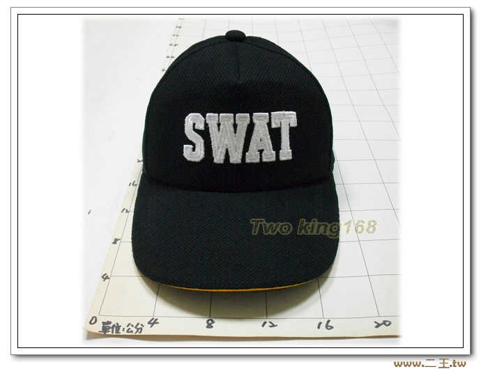 SWAT 排汗帽-特警隊小帽2-21 200元