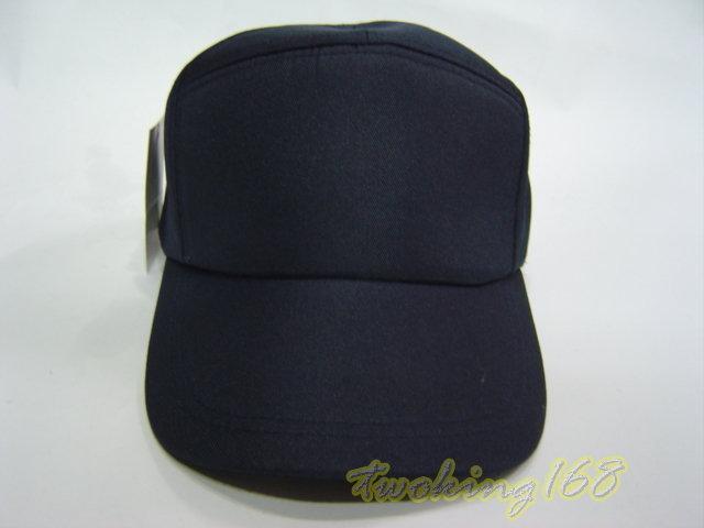★二王軍警防身百貨☆空白深藍色警用帽 NO.1-1 ★ 鴨舌帽 小帽