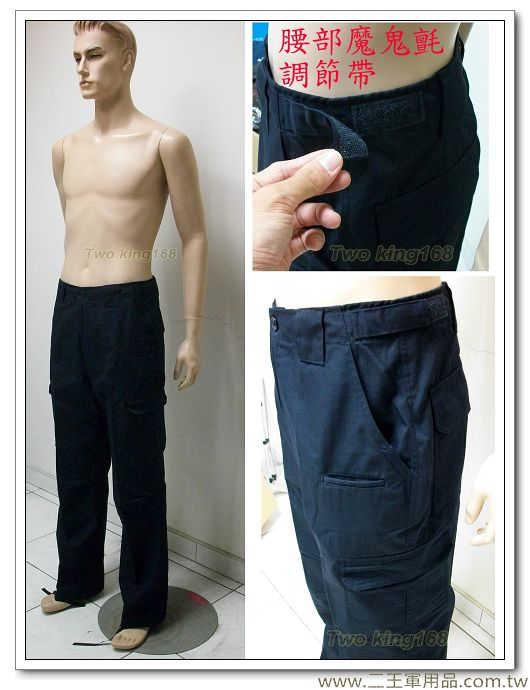 新式霹靂服長褲-特勤服-戰術服裝(深藍色)-1200元