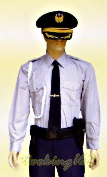 ★☆警察灰紫色長袖襯衫(861B)★★警專☆★警大
