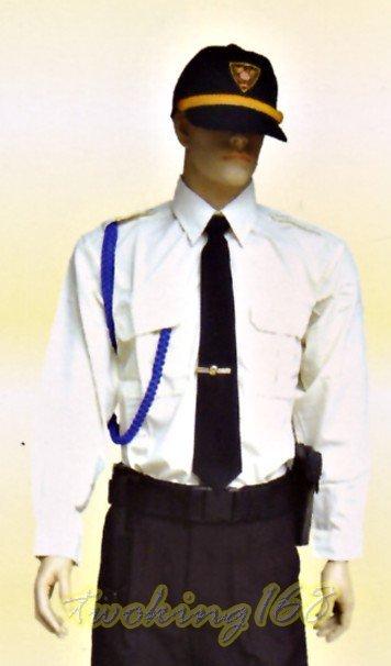 米色長袖襯衫-06☆★Cosplay☆★保全/民防/義消/義警/巡守 西裝 襯衫