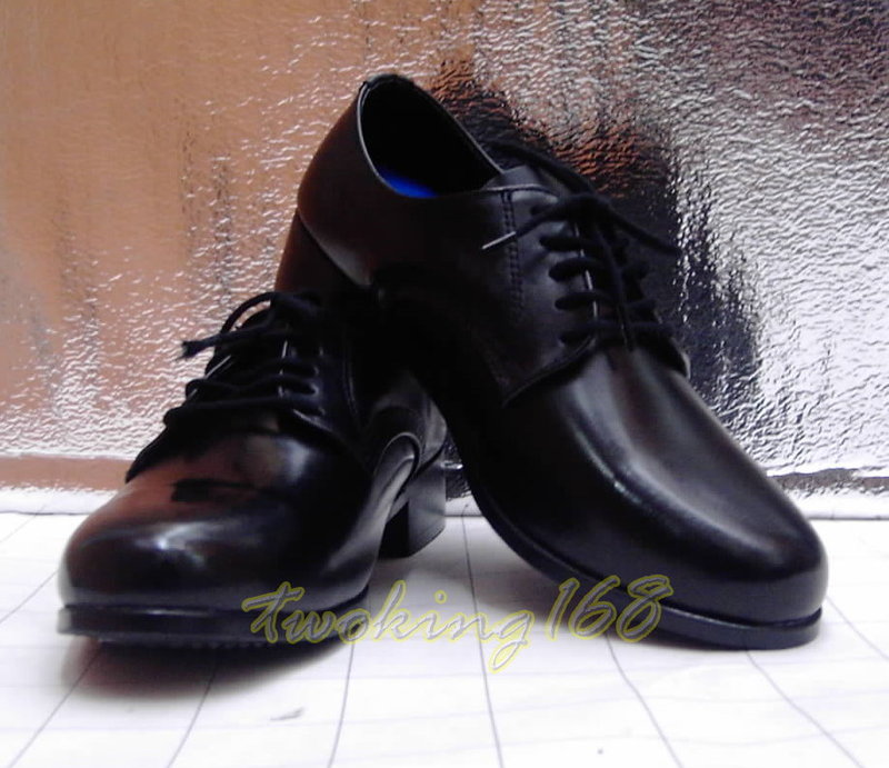 ☆木跟 皮鞋(符合警專預備訓練)★☆Cosplay☆ 小皮鞋