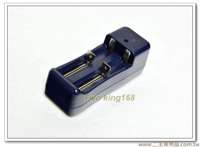 雙槽鋰電池充電器 #LED手電筒充電器