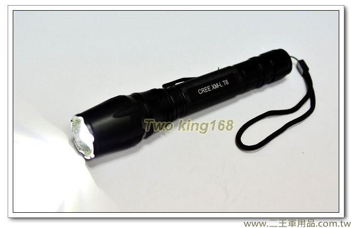 18W 充電式手電筒(附電池及充電器) (美國T6晶片)【WC-3602】