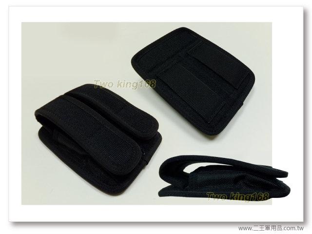 90手槍雙孔彈匣袋(軟式)(E14)-警察裝備-240元