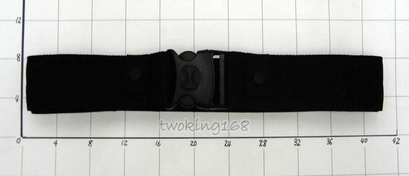 @二王軍警用品社@國外部隊現在正使用戰術勤務腰帶~黑色暗鎖扣S腰帶(防搶型腰帶不易脫落)