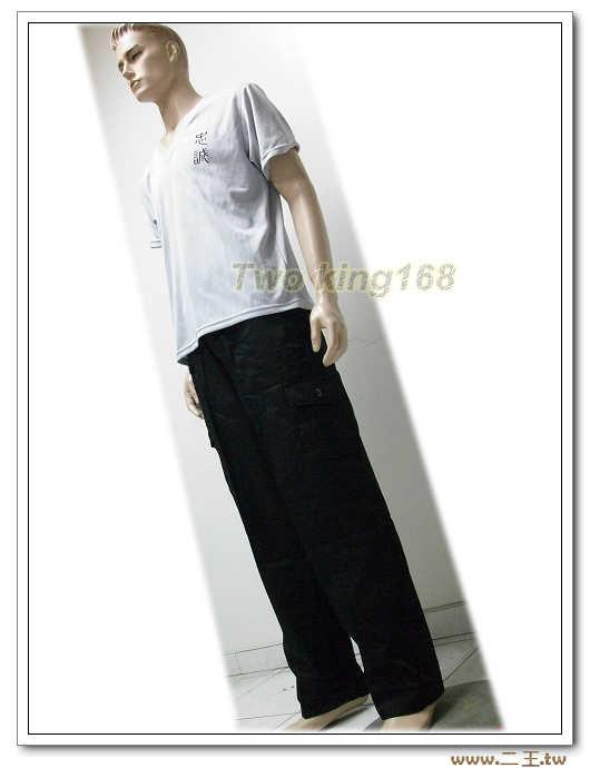 ☆★ 深藍色工作褲4L(9520)-多口袋工作褲
