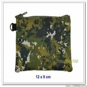國軍數位迷彩零錢包(帆布材質)