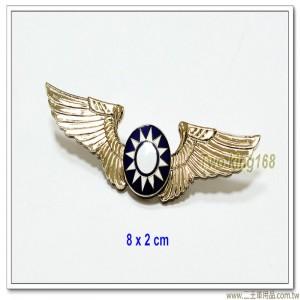 空軍早期初級飛行胸章(銀色銅質)-含盒【bf1-2】