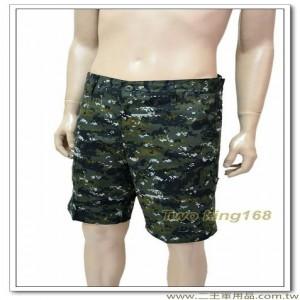 國軍數位迷彩五分褲(美軍十字格紋布)