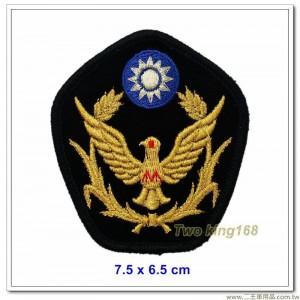 警察大盤帽徽(金蔥警徽)【國內52-1】