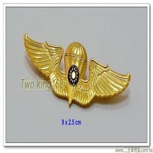 早期傘兵徽(大)(鋁製)【ba15-2】