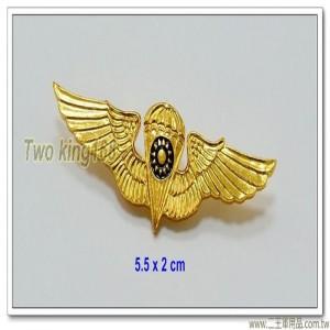 早期傘兵徽(小)(鋁製)【ba15-3】