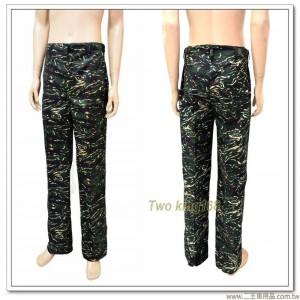 海軍陸戰隊迷彩長褲-海陸迷彩長褲(無腿袋)(28~37腰)650元